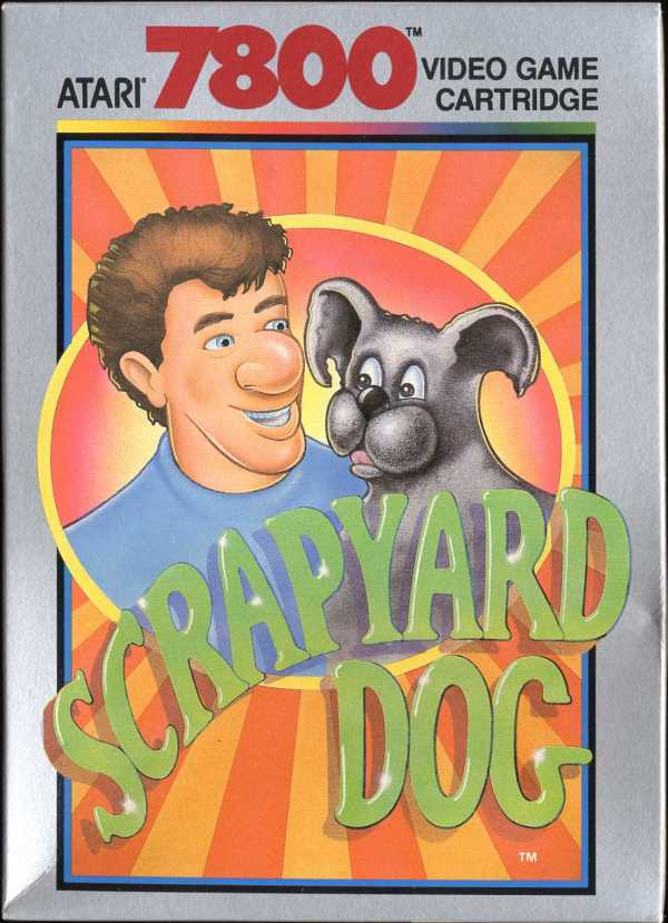Scrapyard Dog Atari 7800 cover artwork