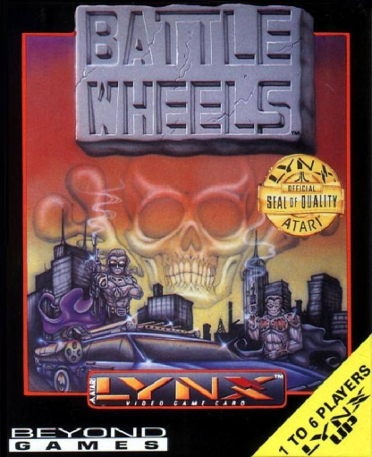 Battle Wheels Atari Lynx cover artwork