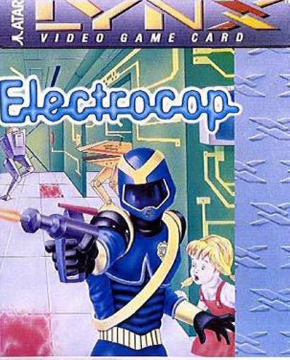 Electrocop Atari Lynx cover artwork