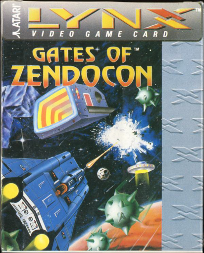 Gates of Zendocon, The Atari Lynx cover artwork