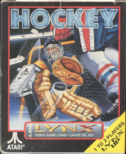 Hockey Atari Lynx cover artwork