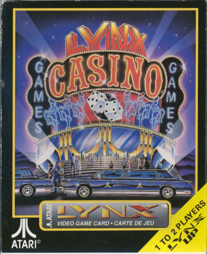 Lynx Casino Atari Lynx cover artwork