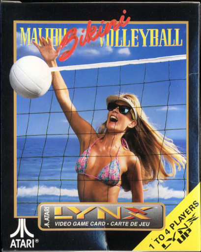 Malibu Bikini Volleyball Atari Lynx cover artwork
