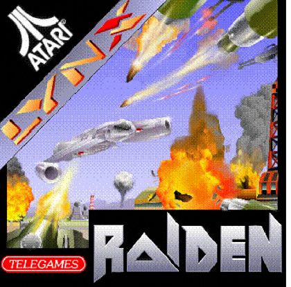 Raiden Atari Lynx cover artwork