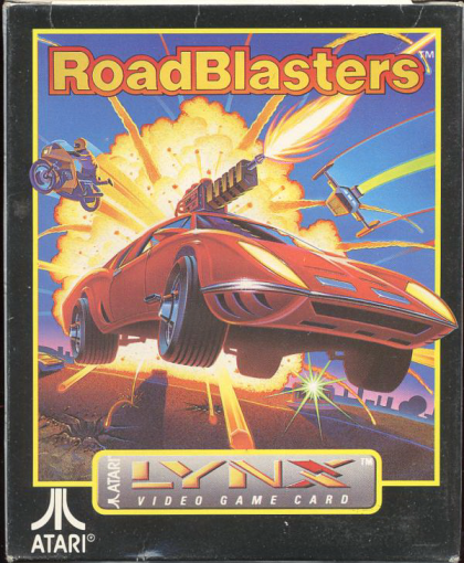 RoadBlasters Atari Lynx cover artwork
