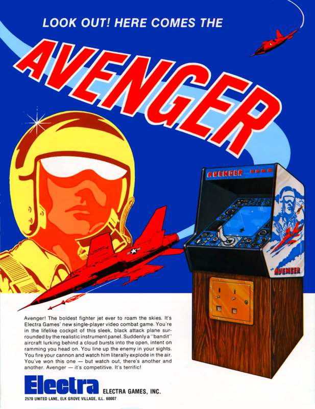 Avengers Coin Op Arcade cover artwork