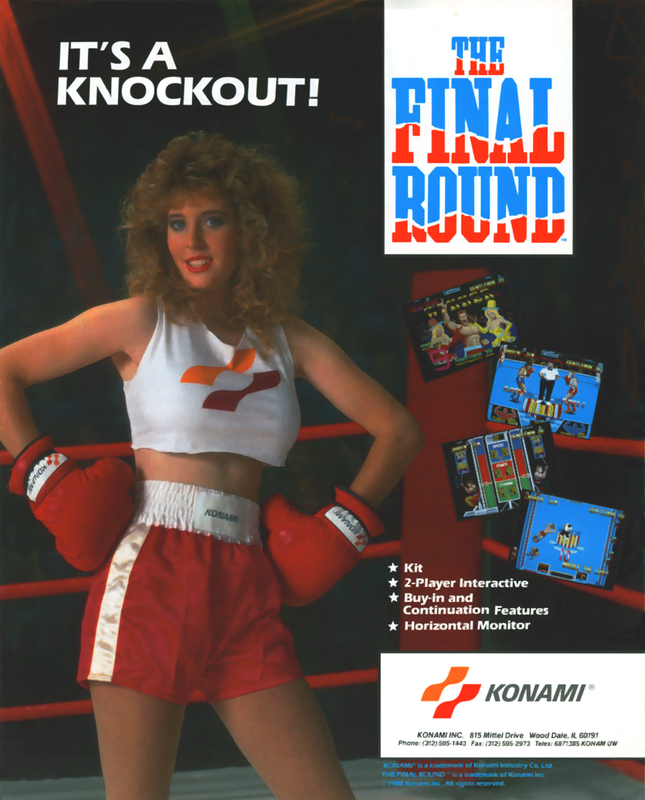 Final Round, The Coin Op Arcade cover artwork