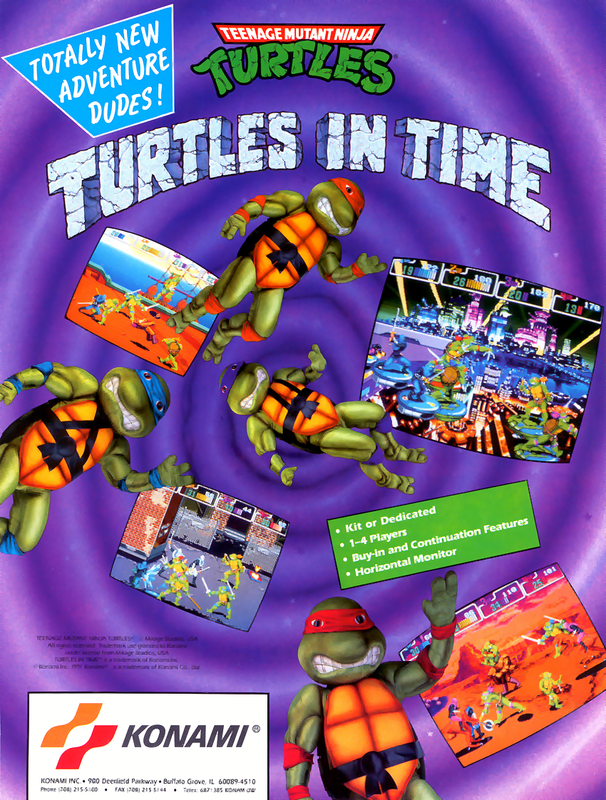 teenage mutant ninja turtles ii the arcade game free