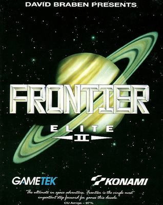 Frontier - Elite 2 Commodore Amiga cover artwork
