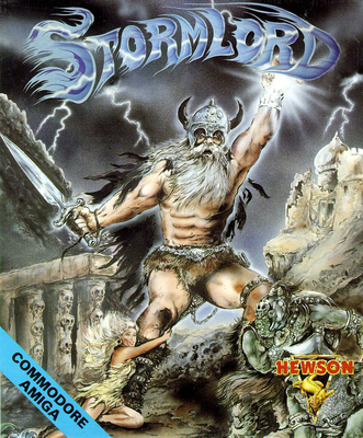 Stormlord Commodore Amiga cover artwork