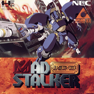 Mad Stalker - Full Metal Force NEC PC Engine CD cover artwork