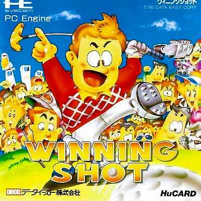 Winning Shot NEC PC Engine cover artwork