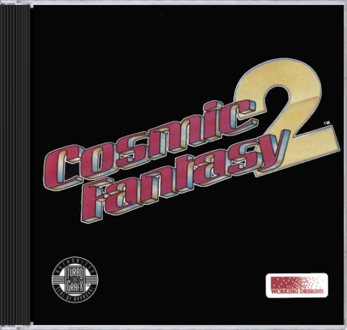 Cosmic Fantasy 2 NEC TurboGrafx 16 CD cover artwork