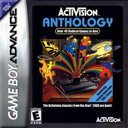 Activision Anthology Nintendo Game Boy Advance cover artwork