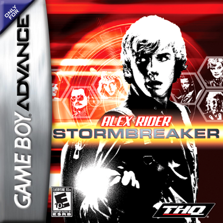 Alex Rider - Stormbreaker Nintendo Game Boy Advance cover artwork