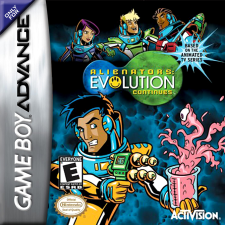 Alienators - Evolution Continues Nintendo Game Boy Advance cover artwork