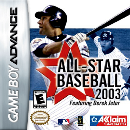 All-Star Baseball 2003 Nintendo Game Boy Advance cover artwork