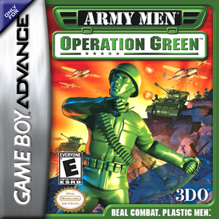 Army Men - Operation Green Nintendo Game Boy Advance cover artwork
