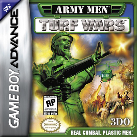 Army Men - Turf Wars Nintendo Game Boy Advance cover artwork