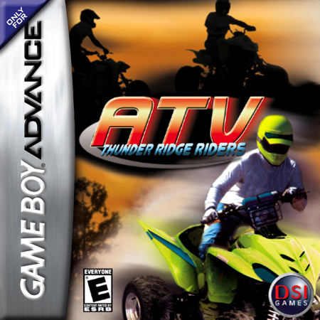 ATV - Thunder Ridge Riders Nintendo Game Boy Advance cover artwork