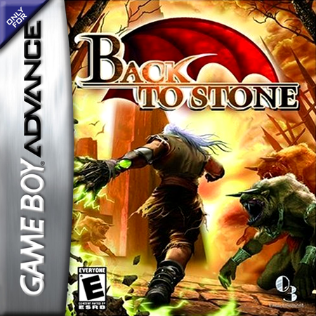 Back to Stone Nintendo Game Boy Advance cover artwork