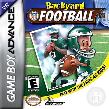 Backyard Football Nintendo Game Boy Advance cover artwork