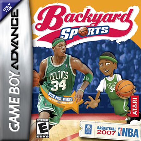 Backyard Sports - Basketball 2007 Nintendo Game Boy Advance cover artwork