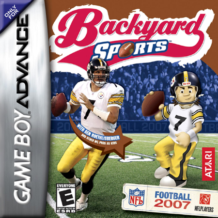 Backyard Sports - Football 2007 Nintendo Game Boy Advance cover artwork
