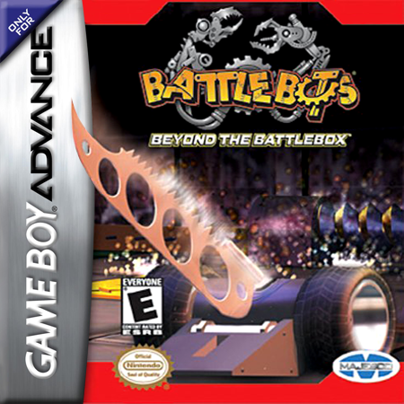 BattleBots - Beyond the BattleBox Nintendo Game Boy Advance cover artwork