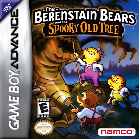 Berenstain Bears and the Spooky Old Tree, The Nintendo Game Boy Advance cover artwork