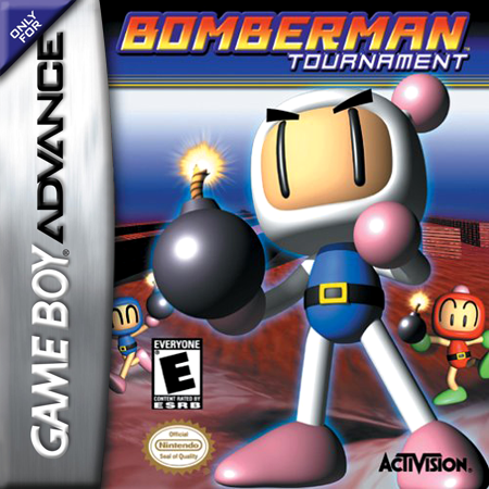 Bomberman Tournament Nintendo Game Boy Advance cover artwork