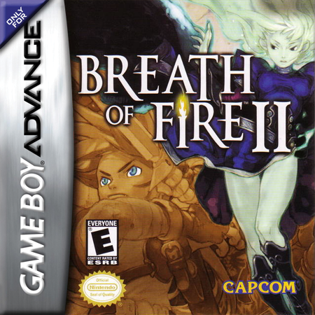 Breath of Fire II Nintendo Game Boy Advance cover artwork