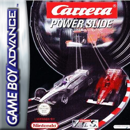 Carrera Power Slide Nintendo Game Boy Advance cover artwork