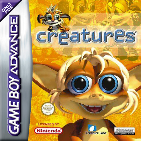 Creatures Nintendo Game Boy Advance cover artwork