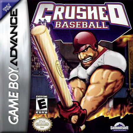 Crushed Baseball Nintendo Game Boy Advance cover artwork