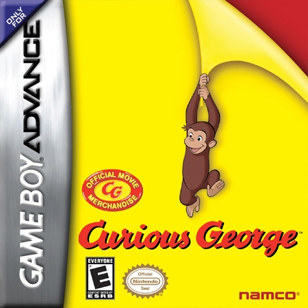 Curious George Nintendo Game Boy Advance cover artwork