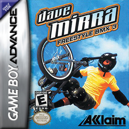 Dave Mirra Freestyle BMX 3 Nintendo Game Boy Advance cover artwork