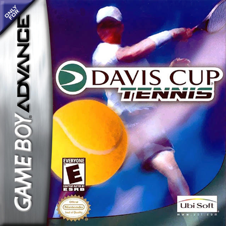 Davis Cup Nintendo Game Boy Advance cover artwork