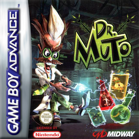 Dr. Muto Nintendo Game Boy Advance cover artwork