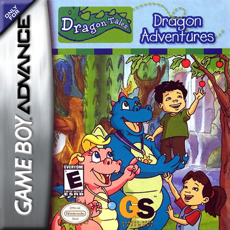 Dragon Tales - Dragon Adventures Nintendo Game Boy Advance cover artwork