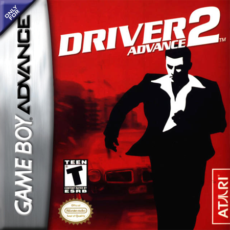 Driver 2 Advance Nintendo Game Boy Advance cover artwork