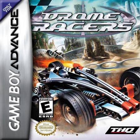 Drome Racers Nintendo Game Boy Advance cover artwork