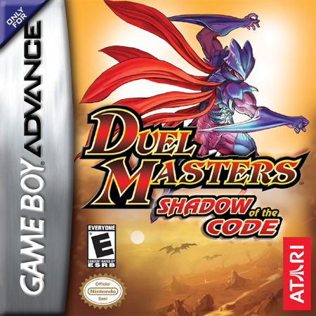Duel Masters - Shadow of the Code Nintendo Game Boy Advance cover artwork