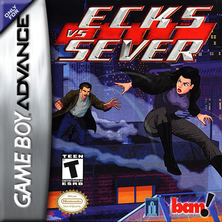 Ecks vs Sever Nintendo Game Boy Advance cover artwork