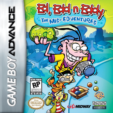 Ed, Edd n Eddy - The Mis-Edventures Nintendo Game Boy Advance cover artwork