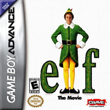Elf - The Movie Nintendo Game Boy Advance cover artwork