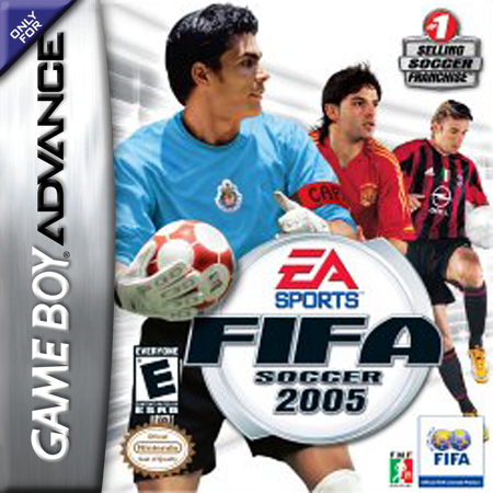 FIFA Soccer 2005 Nintendo Game Boy Advance cover artwork