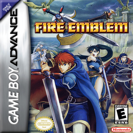 Fire Emblem Nintendo Game Boy Advance cover artwork