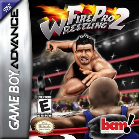 Fire Pro Wrestling 2 Nintendo Game Boy Advance cover artwork