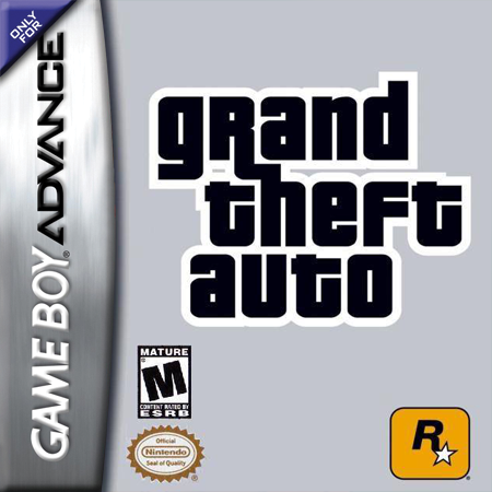 Grand Theft Auto Advance Nintendo Game Boy Advance cover artwork